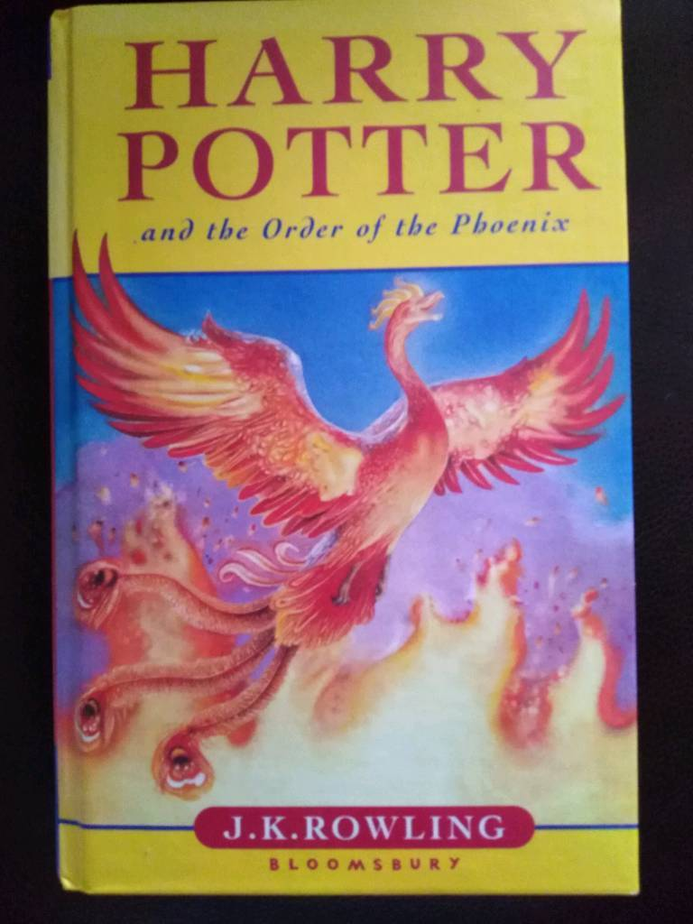 harry potter order of the phoenix first edition