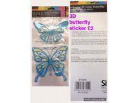 3 D butterfly 🦋 sticker