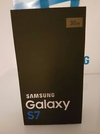 Samsung s7 new in box locked to EE 32gb gold