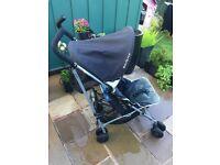 Maclaren Pushchair buggy lightweight stroller pram