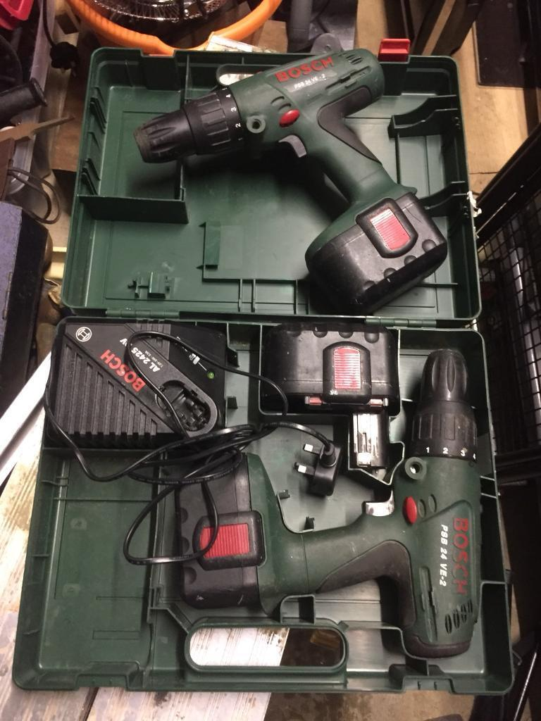Bosch Drills 2 Only £25 pounds