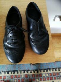Clarke's school shoes size 2