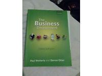 The Business Environment P.Wetherly D. Otter students book new book oxford