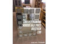Luxury diamond mirrors from