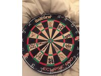 Signed pdc dart board