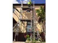 Eiger/boss 6.2 meter working height scaffolding
