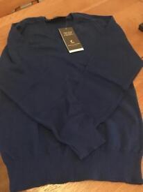 Royal blue school jumper age 9-10 years