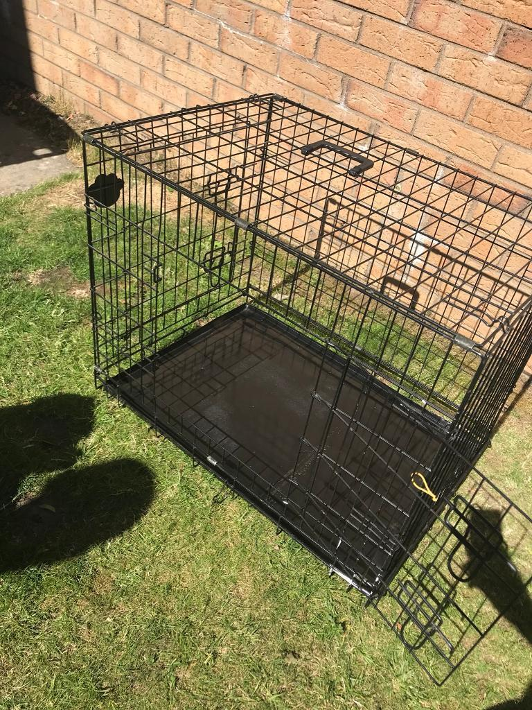 Metal puppy/dog cage