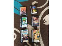 Sega Saturn games.