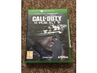 Xbox one game - Call of duty Ghosts