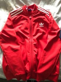 Adidas tracksuit tops