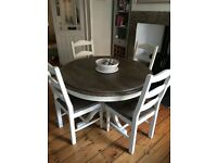 Barker & Stonehouse Carisbrooke round dining table & 4 chairs