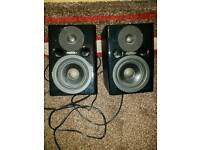 Fostex pm0.4 monitor speakers