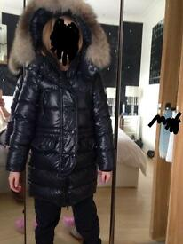 Moncler girls authentic coat. Age 8. Vgc £200
