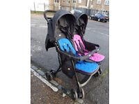Joie Double Buggy As Good As New!!