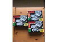 Super Nintendo Classic Mini - Mini Snes - Brand New Unopened ( 3 Available )