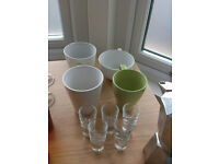 Kithenware cleaning off: glasses, mugs, toaster, cutlery, pots - £13
