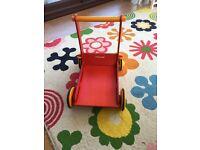 Moover wooden baby walker