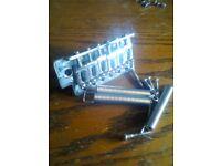 Collection Strat parts - complete - bridge, trem, pups, etc
