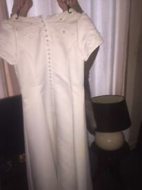Communion dress with vail
