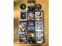 12 PlayStation 2 PS2 Games, GTA, Simpson's Hit and Run, Sega