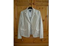 Lands End Ladies Cotton Jacket, size 12.