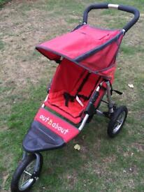 Out n' About Nipper 360 Single buggy