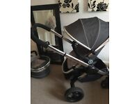 iCandy peach 3 truffle Pram and pushchair