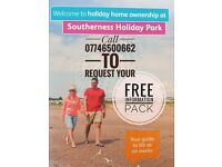 3 Bedroom Caravan, Static, FREE Decking, SITE FEES ONLY £1499, Southerness Holiday Park, Scotland