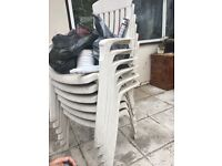 Garden chairs - good condition