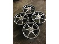 "18""5 Stud ASTRA H Team Dynamic Set Of 4 Alloys"