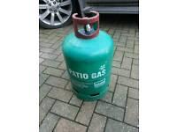 FULL Patio Gas Bottle 13Kg