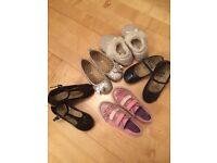 Girls shoes selling as bulk. 5pairs Clarks and NEXT size 9