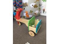 ELC wooden trike