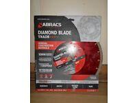 NEW Abracs Diamond Blade Disk. General Construction. 300mm / 20mm. Concrete. Brick, Stone. Tiles