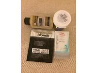 BUNDLE OF NEW HAIR PRODUCTS...bleach/toners Wella Jerome Russell Directions *will post*