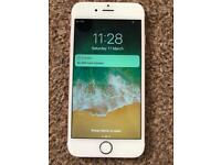iPhone 6s 16GB, unlocked, rose gold, good condition, full working.