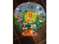 Peppa pig fairground interactive play mat