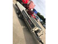 Ifor Williams LM166 3500kg DropSide Flatbed Recovery Trailer