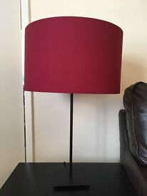 Living room table lamps x 2