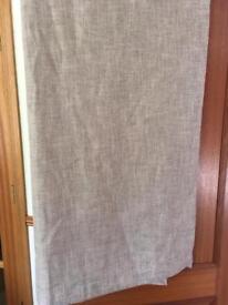 Beige curtains - 2 pairs