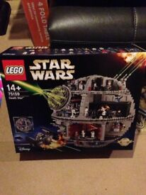 LEGO Death Star brand new in box with seal still on