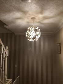 Ceiling lamp shade, as good as new, 2 available