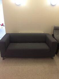 Ikea grey 'klippan' 2 seat sofa