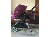 CAN POST Baby Jogger Carrycot Bassinett Pram Top Fits City Mini 3/4 GT Elite Summit RRP £139