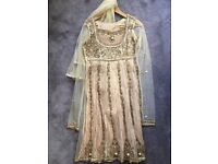 3 Indian lengha's - Size 8-10 - Various Colours