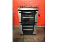 Zanussi electric cooker 55cm stainless steel double oven 3 months warranty free local delivery!!!