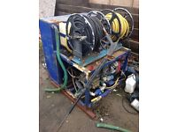 drain jetter/power wash. this was used as a drain jetter selling due to retirement.