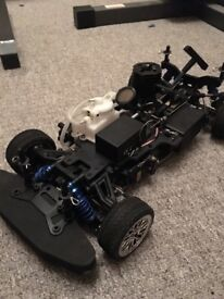 Rc nitro car nearly brand new