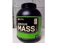 Serious mass protien shake